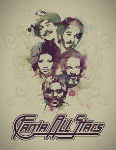 Fania All Stars: Rubén Blades, Willie Colón, Celia Cruz, Ismael Rivera, Johnny…