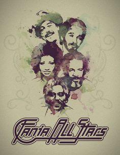 Fania All Stars: Rubén Blades, Willie Colón, Celia Cruz, Ismael Rivera, Johnny…