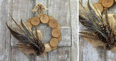 Love this wreath for fall.
