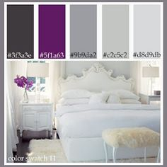 South facing rooms often receive direct sunlight for most part of the day. Use pale blues and lilacs for a cool effect.    North facing rooms that receive only indirect light have a cooler feel. Opt for soft, pale tints of warm colors or neutrals that will reflect light back into the room.