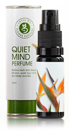Quiet Mind Perfume by Lotus Wei $45