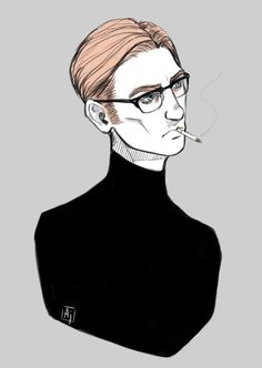 Hux and Ren with glasses bc why not. : Starkiller crew