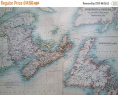 Best Canada Maps Images On Pinterest Antique Maps Old Maps And - Antique maps for sale uk