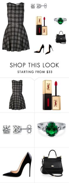 """""""Без названия #2154"""" by newyorkstylrer ❤ liked on Polyvore featuring Alice + Olivia, Yves Saint Laurent, BERRICLE and Dolce&Gabbana"""