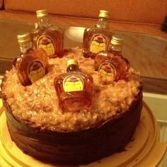 crown royal cake for Cale cakes Pinterest Crown royal cake