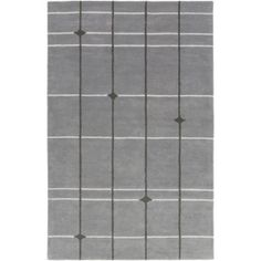 Our hand tufted 100% wool Thermoscad rug combines a classic print w...