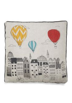 Looking Up Pillow - a fun little travel gift. Me wants!!