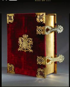 King George III's Coronation Bible, with prayer book and psalter. George III (6/4/1738 – 1/29/1820) was King of Great Britain and Ireland from October 25, 1760 until the union of the two countries on January 1, 1801, after which he was King of the United Kingdom of Great Britain and Ireland until his death. (V)