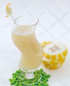 Oriental melon Natural Juice Fresh Juice Recipes, Natural Juice, Hurricane Glass, Oriental, Healthy, Book, Tableware, Dinnerware, Tablewares