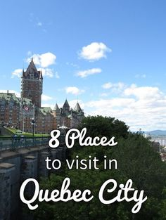 8 Places to Visit in Quebec City · Kenton de Jong Travel - I was recently asked if I preferred my time in Montreal or Quebec City more, and while Montreal is a gorgeous city, decorated with thousands of gre. Places To Travel, Travel Destinations, Places To Visit, Voyage Montreal, Montreal Canada, Montreal Quebec, New England Cruises, Voyage Canada, Canadian Travel