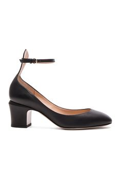 Valentino Tango Leather Heels in Black - couldn't decide between the patent version or non-patent - got both, will decide then!