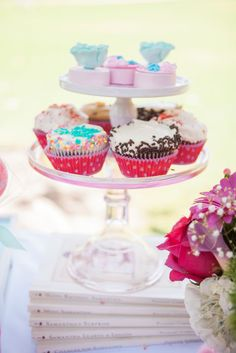 American Girl Inspired Birthday Dessert Table. See more over at www.justalittlesparkle.com