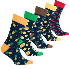 Socks n Socks-Mens Luxury Colorful Cotton Fun Novelty Dress Socks Gift Box Funky Fruit, Mens Novelty Socks, Buy Socks, Kids Socks, Dress Socks, Special Birthday, Cheer, Cotton Fabric, Comfy