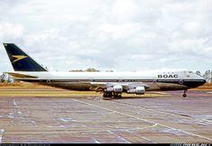 BOAC Boeing 747-136, Kenya, April 24, 1973 - photo: R.A.Scholefield