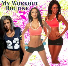 My Workout Routine: GLUTES/QUADS/ABS 1