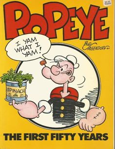 Popeye The First 50 Years by Bud Sagendorf