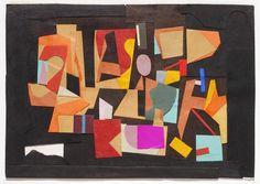 Ad Reinhardt, Paper Collage, 1939 (Hirshhorn Museum and Sculpture Garden, Washington DC)