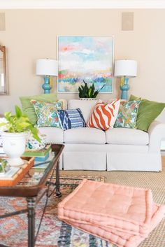 Amanda Louise Interiors : So Fresh, So Clean: Spring Living Room