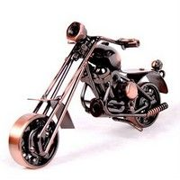 Metal Iron Crafts Motorcycle Model Style
