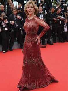 Cannes 2014 - jane Fonda