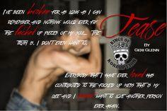 NEW RELEASE, REVIEW & TRAILER:Tease (Kings of Korruption MC, #2) by Geri Glenn - #BadassBikerAlert - iScream Books