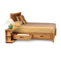 Possible bed for Anja -- Berkeley  Bed with Storage Drawers at CircleFurniture.com