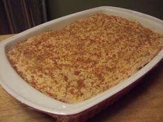 Almond Nut, Almond Paste, Baked Meringue, Egg Pie, Frozen, Caramelized Sugar, Custard Filling, Sugar Sprinkles, Sliced Almonds