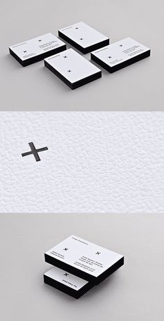 Black/White Business Cards