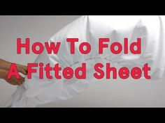 Super funny song teaches you How To Fold A Fitted Sheet :)