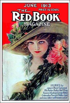 Red Book Lillian Gish Featured June 1913 Henry Hutt