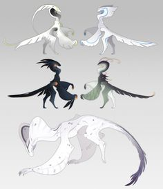Adopts + Designs by QuillCoil on DeviantArt
