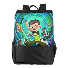 Ben 10 Student Black Fashion Durable Sport Adjustable Strap Backpack -- Learn more by visiting the image link.