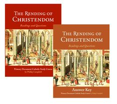 """Seven Reasons to Use """"The Rending Of Christendom Sourcebook""""The Rending of Christendom Sourcebook, written by Phillip Campbell, is a primary document Catholic study course and is very different from the typical textbook that one finds on the bookstore shelves these days. There was a time…"""