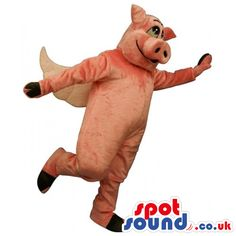 #pig #mascots by #spotsound_uk -Discover all our #pigs #mascots #costumes for your marketing events on: http://www.spotsound.co.uk/113-mascots-pig - 7 sizes available with fast shipping over the world ! We can also customize your future #pig #mascot ! Visit us ;)