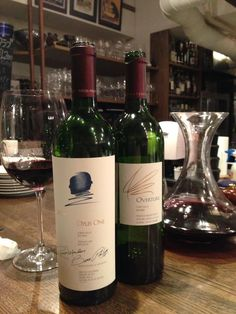 Opus One 2009 & Overture  Wonderful fruits taste,Gorgeous.