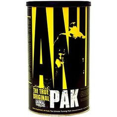 Animal Pak has everything you need to turn your body into the ultimate training machine.