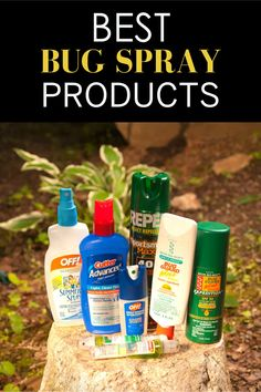 The best bug sprays and bug repellents for spending time outdoors! Bites And Stings, Insect Repellent, Natural Essential Oils, Sprays, Shopping Hacks, Sensitive Skin, Bugs, Herbalism, Outdoors