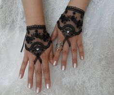 Inspiration for a black and white wedding by Iryna and Michael on Etsy