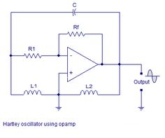 ‪#‎HartleyOscillator‬ circuit is an electronic oscillator circuit which the oscillation frequency is determined by a tuned circuit consisting of capacitors and inductors, that is, an LC oscillator.
