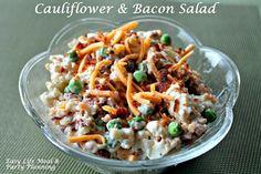 Easy Cauliflower & Bacon Salad
