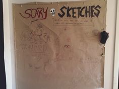 Instead of a guest book I put up a huge sheet of paper in the kitchen for people to scribble on!