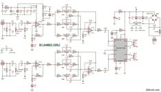 Component  150 Watt Power Amplifier    Circuit       Board    3 W Btl Audio 150wt 2500    Diagram    Da800 Da1800