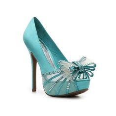 ZIGI SOHO SUPREME satin/crystal BOW heels