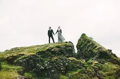how about getting married on lava rocks in Iceland?