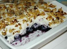 My aunt gave me this recipe, its simply delicious. Wonderful for summertime.Enjoy!