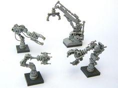 Robot Arms - Legoloverman