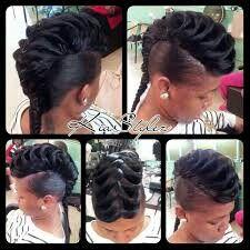 Janelle Monae hairstyle