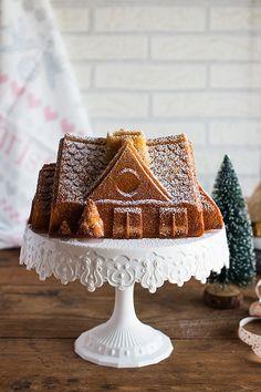 Bundt cake de ponche de huevo