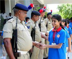 Befriend Your Cop - visit to Karai Police Academy