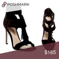 Via Spiga Fringe Heel Sandal Gorgeous NWT Via Spiga Fringe Heel Sandal in perfect condition. Perfect for a night out! 27.980000gfdg Via Spiga Shoes Heels